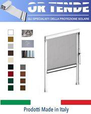 Zanzariera Verticale a Catena SU MISURA per porta finestra in Alluminio - ITALIA