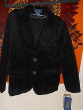 BNWT Boys Ralph Lauren Corduroy Princeton Sport Coat/Jacket Black 5 Years £145