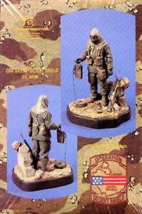 Verlinden 120mm 1:16 CBR Dress Desert Shield US Army Resin Figure Kit #548