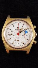 TISSOT Seastar Chronograph Watch Vintage Lemania 1281 Cal 871