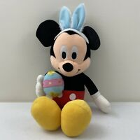 Disney Easter Egg Bunny Ears Mickey Mouse Plush