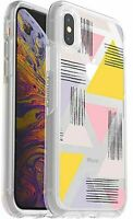 OtterBox Symmetry Series Case iPhone X & iPhone Xs, Love Triangle, Easy-Open Box