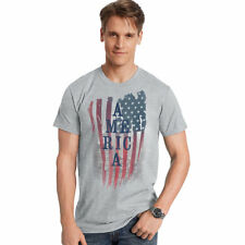 Hanes Men's America US Graphic Tee Gt49 Y06373