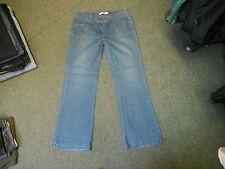"""M & Co jean bootcut taille 14 jambe 31.5"""" délavé bleu foncé femme jeans"""