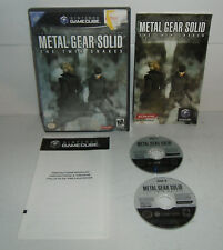Gamecube Game METAL GEAR SOLID: TWIN SNAKES Complete Tested!! Rare Cube CIB GC