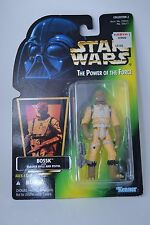 Star Wars POTF BOSSK Bounty Hunter Action Figure Power of the Force MOC Sealed