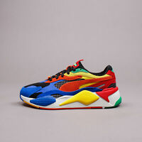 Puma RS-X3 Junior Youth x Rubiks Cube Multicolour  Limited New Shoes 374028-01