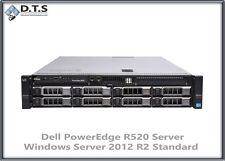 Dell Poweredge R520 2x E5-2420 48GB 6x 1TB SAS PERC H310 Sever 2012 R2 Standard
