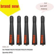 5x UHF Stubby Antenna For Kenwood TK3140 TK3160 TK3170 TK3306  Radio