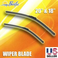 "Windshield Wiper Blades J-HOOK OEM QUALITY 20"" & 18"" INCH Bracketless"