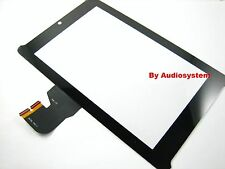 VETRO+ TOUCH SCREEN per ASUS FONEPAD 7 ME372CL K00Y PER TABLET DISPLAY NERO
