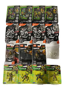 Mega Construx TMNT Lot w/Mousers! Free Priority Shipping!
