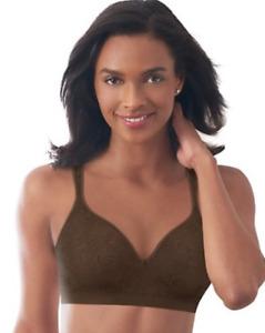 CLEARANCE Bali Comfort Revolution Wirefree Bra 3457 Brown Swirl 36B