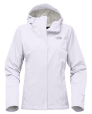 EUC Women's THE NORTH FACE Venture Waterproof Jacket XS White