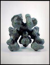 "Lost Wax Cast  Abstract Bronze Sculpture ""Receptual Art #3"" Kristin Eyfells"