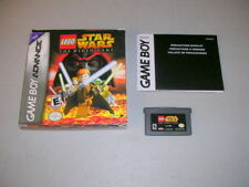 LEGO STAR WARS (Game Boy Advance GBA) Game & Box, No Manual