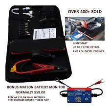 Jump Starter 18000mAh 12V 600amp Mini Portable Battery Booster Pack  Power Bank