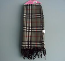 FLEECE SCARF GRAY W/ STRIPES /FOR EVERY AGE/UNISEX/MADE BY KALI & WINS