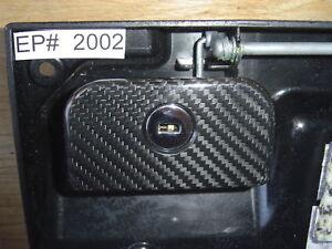 Lamborghini Gallardo Glove Box Inside Lid, Carbon Fiber