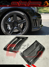 08-11 MERCEDES BENZ W204 C63 AMG BUMPER CARBON FIBER AIR VENT DUCT COVER X 2