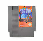 Starship Hector -- NES Nintendo Original Classic Authentic Game TESTED GUARANTEE