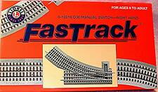 Lionel O36 FASTRACK Switch Right Hand Manual #6-12018