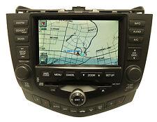 HONDA Accord Navigation GPS Sytem LCD Display Screen Radio 6 CD Player 2CK1 2CK3