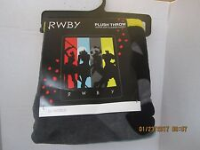 RWBY ANIME PLUSH THROW BLANKET RUBY ROSE WEISS BLAKE YANG ROOSTER TEETH PLUSH
