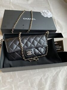 Chanel Leather Glasses Case Mini Bag Accessorize Sold Out!