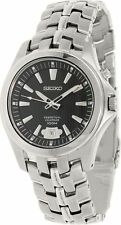 Seiko Men's Perpetual Calendar SNQ101 Silver Stainless-Steel Quartz Watch