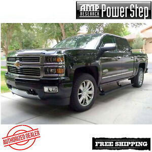 AMP Research® PowerStep Running Boards 2014-2018 Silverado Sierra 1500 EC CC