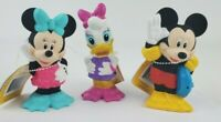 Mickey Mouse Clubhouse Bath Squirters lot of 3 Mickey Minnie Daisy