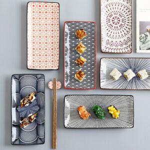 """Easy Life ver2"" Dishes Sushi Dinner Plates Tray Restaurant Dinnerware Tableware"