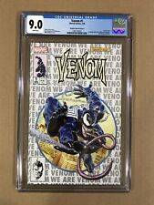 Venom #1 CGC 9.0 Mayhew MegaCon Variant Cover B (Marvel 2018) ASM 300 Homage