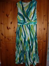 M&Co Boutique size 18 green A line, sleeveless long cocktail dress