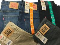 NEW Levi's 511 Slim Boys' Jeans & Pants SIZE & COLOR VARIETY