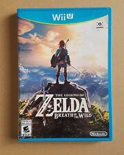 The Legend of Zelda: Breath of The Wild [ Nintendo Wii U ]