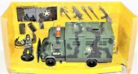 Chap Mei Soldier Force MP 204 Box Truck Van Vintage With Action Figure & Access.