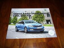 Skoda Rapid Spaceback COOL EDITION Prospekt 09/2015
