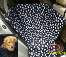 Pet Dog Car Seat Carrier Cover Dog Cat Portable Rear Back Mat Protector Cushion