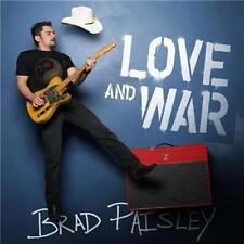 BRAD PAISLEY Love And War feat. Mick Jagger & John Fogerty CD NEW