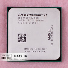 Free shipping HDZ955FBK4DGM AMD Phenom II X4 955 CPU Processor 3.2GHz Socket AM3