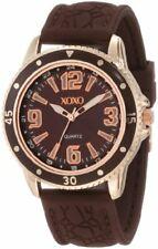 XOXO Women's XO8050 Brown Strap with Brown Bezel Watch