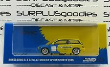 INNO64 1:64 1985 HONDA CIVIC Si E-AT Gr.A Tuned by Spoon Sports #IN64-EAT-SP85