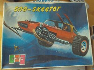 Sno-Skeeter Model, Vintage 70s PYRO Model. Complete and Untouched In Box, RARE
