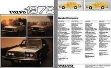 Volvo 1976 Brochure