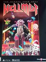 HELLMUT BADASS FROM HELL Gamestop Exclusive Promo Poster