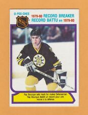 1980-81 NHL O-Pee-Chee # 2 Ray Bourque / 1979-80 Record Breaker -- ExMt