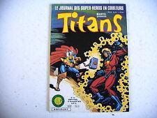 BD marvel TITANS n° 23 - 1979