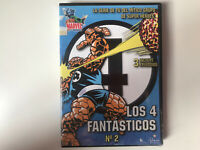LOS 4 FANTASTICOS DVD NUMERO 2 FANTASTIC FOUR  MARVEL UNIVERS